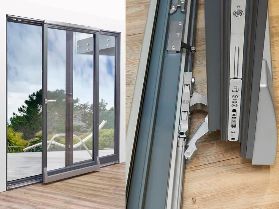Портальная система открывания двери